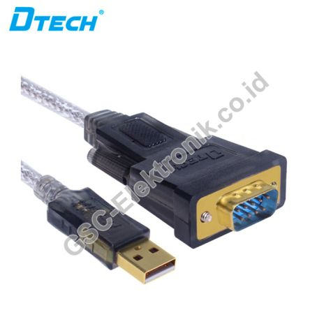 DTECH HDMI CONVERTER USB V2.0 TO SERIAL DB9 CONVERTER CABLE DT-5002A 2 dt_5002a_2