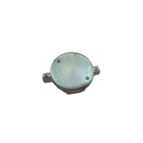 ACCESSORIES FOR STEEL PIPE CONDUIT FORT CIRCULAR JUNCTION BOX 2 WAY FOR TYPE E JBE211-215 1 jbe211_215