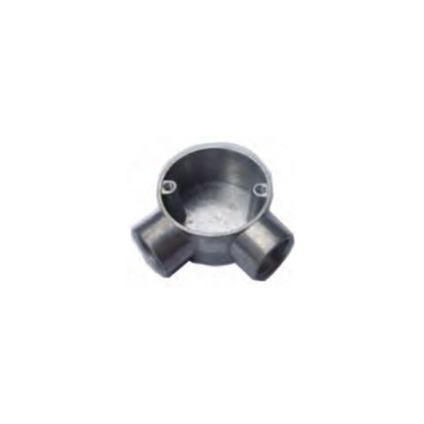 ACCESSORIES FOR STEEL PIPE CONDUIT FORT CIRCULAR JUNCTION BOX 2 WAY ANGLE FOR TYPE G JBG201-206 1 jbg201_206