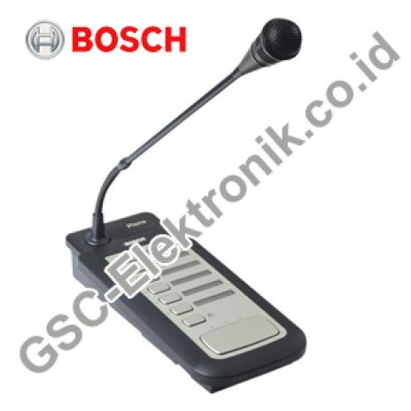 PLENA VOICE ALARM BOSCH MIC CALL STATION LBB1956-00 1 lpp1956_00